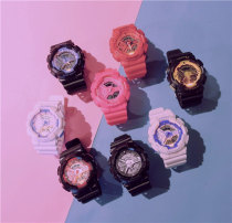 Wristwatch Ulzzang Shop warranty Electronic movement neutral silica gel domestic 3ATM rubber Plastic mirror 13mm 50mm FG2017080109 circular motion digital brand new Pin buckle ordinary ordinary Big dial Spring and summer 2017