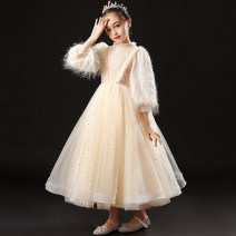 Children's dress female 100cm 110cm 120cm 130cm 140cm 150cm 160cm Geyaner full dress Class B polyester fiber Polyester 100% Winter 2020 2 years old, 3 years old, 4 years old, 5 years old, 6 years old, 7 years old, 8 years old, 9 years old, 10 years old, 12 years old, 13 years old, 14 years old