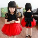 Dress summer Korean version Pure cotton (100% cotton content) Pleats Solid color female Other / other Other 100% 3 months Pleated skirt 26 Height behind red reference yards
