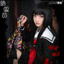 Cosplay women's wear skirt goods in stock Over 8 years old comic L,M,S,XL All over the world Japan Lovely wind Jigoku Shoujo Mioyosuka Jigoku Shoujo Mioyosuka