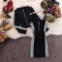 Casual suit Autumn of 2019 black S,M,L,XL,XXL