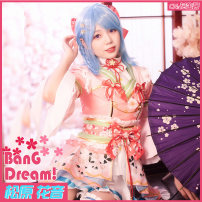 Cosplay women's wear suit Customized Over 14 years old Women's Animation, games 50. M, s, XL, customized CGCOS Japan Cos dress girl bang dream! Cosplay clothing
