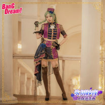Cosplay women's wear suit Customized Over 14 years old Women's Glacier yarn night, women's Glacier yarn night in stock Animation, games S. M, l, XL, customized CGCOS Japan Bang Dream Cg665czh ice night