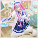 Cosplay women's wear suit Customized Over 14 years old Animation, games S. M, l, XL, customized CGCOS Japan Lovely wind vtuber