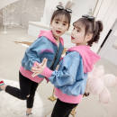 Plain coat Other / other female 100cm,110cm,120cm,130cm,140cm,150cm,160cm Rose red, yellow, rose red with velvet, yellow with velvet spring and autumn Korean version Zipper shirt There are models in the real shooting routine No detachable cap Cartoon animation cotton Crew neck Cotton 60% other 40%