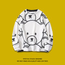 Sweater Youth fashion Tagkita / she and others S,M,L,XL Animal design Socket routine Crew neck autumn easy leisure time teenagers like a breath of fresh air routine