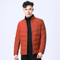 Down Jackets Y4l00600 orange red Others White duck down 190,180,170,195,185,175 Fashion City Other leisure Medium length routine 85% Luo 20-10 / y4l00600 Hoodless stand collar youth Youthful vigor stripe Zipper decoration other