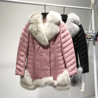 Down Jackets Other/others White goose down Winter of 2018 85% ML XL 2XL 3XL Pink grey black rice white 18HN15056