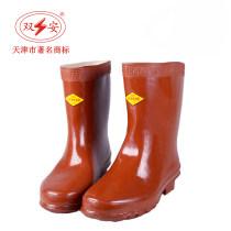 Protective footwear 25kv insulated boots 30kv insulated boots 35kv insulated boots 40kv insulated boots 37 38 39 40 41 42 43 44 45 ShuangAn