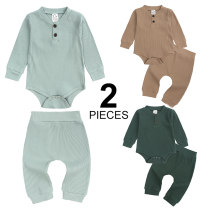 suit Kids Tales Camel, cyan, army green 70 (recommended height 65-70cm 7-9kg), 80 (recommended height 70-80cm 9-11kg), 90 (recommended height 80-85cm 11-12kg), 100 (recommended height 85-90cm 12-13kg) male spring and autumn Europe and America Long sleeve + pants 2 pieces routine Official pictures