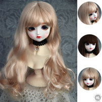 BJD doll zone Wigs 1/3 Over 14 years old goods in stock Light green [silver gray] [champagne gold] [dark brown] Three points 9-10 & quot; 23-25cm three points 8-9 & quot; 21-22.5cm four points 7-8 & quot; 18-19cm six points 6-7 & quot; 15-17cm LuxuryDoll