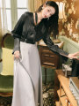 Fashion suit Autumn 2020 S,M,L Top + tie + skirt + belt 18-25 years old 81% (inclusive) - 90% (inclusive)