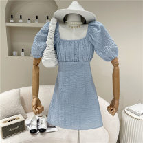 Dress Spring 2021 Blue, white, black M, L 18-24 years old 51% (inclusive) - 70% (inclusive)