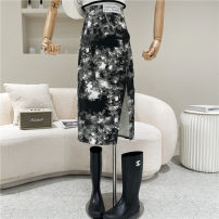 skirt Summer 2021 S,M,L Black, white 18-24 years old 51% (inclusive) - 70% (inclusive)