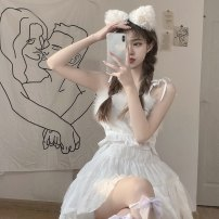 Fashion suit Summer 2021 S, M Maomao vest, Maomao vest high quality version, pengpeng gauze skirt, pengpeng gauze skirt high quality version 18-25 years old 30% and below