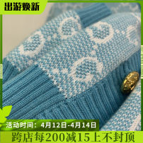 Wool knitwear Spring 2021 S,M,L sky blue Long sleeves singleton  Cardigan wool More than 95% Regular routine street easy Low crew neck routine other