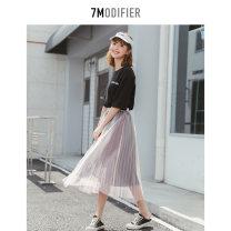 Fashion suit Spring 2020 S M L Black black 1 7.Modifier 91% (inclusive) - 95% (inclusive) cotton