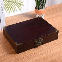 Desktop storage box wooden  Retro Retro style