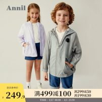 Jacket / leather Annil / anel neutral 110cm 120cm 130cm 140cm 150cm 160cm 170cm other leisure time spring and autumn routine No detachable cap Zipper shirt There are models in the real shooting Polyamide fiber (nylon) 100% Autumn 2020