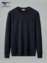 T-shirt Fashion City 001 black 101 Navy 113 light blue 803 white thick 165/84A/M 170/88A/L 175/92A/XL 180/96A/XXL 185/100A/XXXL 190/104A/XXXXL Septwolves Long sleeves Crew neck standard go to work autumn FZ1D1860603637 Cotton 78.4% polyester 19.5% polyurethane elastic fiber (spandex) 2.1% youth
