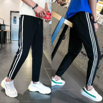 Casual pants Others Youth fashion M (recommended 70-100 kg), l (recommended 100-115 kg), XL (recommended 115-130 kg), XXL (recommended 130-150 kg), 3XL (recommended 150-160 kg), 4XL (recommended 160-175 kg), 5XL (recommended 175-190 kg) thin Ninth pants Other leisure Self cultivation Micro bomb 2020