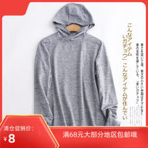 Sweater / sweater Spring of 2019 Picture color S, M Long sleeves routine Socket singleton  routine Hood Self cultivation commute raglan sleeve Lady Boya Simplicity