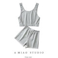 Fashion suit Spring 2021 S, M Vest, shorts 71% (inclusive) - 80% (inclusive)