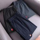 Casual pants Huasachi other 21bht-qc21e01 black, 21bht-qc21e01 dark gray, 21bht-qc21e01 dark blue L,XL,2XL,3XL,4XL,5XL thin Ninth pants Other leisure easy Micro bomb summer youth 2021 middle-waisted Sports pants Solid color