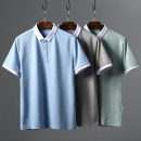 Polo shirt Huasachi other routine 21-0208 green, 21-0208 blue, 21-0208 coffee 170,175,180,185,190/104A,190/108B,190/112B standard Other leisure summer Short sleeve Business Casual routine youth 2021 Solid color cotton 50% (inclusive) - 69% (inclusive)