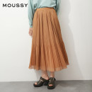 skirt Spring 2021 00001/S 00002/M 013 cream 550 light tan Mid length dress fresh High waist Pleated skirt Solid color Type A 18-24 years old 010ESW30-0940 More than 95% other moussy other Other 100% Same model in shopping mall (sold online and offline)