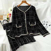 Fashion suit Autumn 2020 Average size black 18-25 years old 51% (inclusive) - 70% (inclusive)