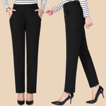 Leggings Autumn of 2018 Black-8203, stripe-8205 XL,2XL,3XL,4XL,5XL routine trousers New casual pants