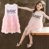 T-shirt Pink Black Artemisia argyi 110cm 120cm 130cm 140cm 150cm 160cm female nothing other other Other 100% Zb-031 dress Class B 3 years old, 4 years old, 5 years old, 6 years old, 7 years old, 8 years old, 9 years old, 10 years old, 11 years old, 12 years old