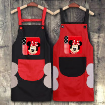 apron Sleeveless apron waterproof Japanese  PVC Household cleaning Average size MQ504 Dilong (home) public yes Cartoon
