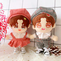 BJD doll zone suit other Over 3 years old goods in stock It's black for men and red for women 20 cm Other / other Yes *