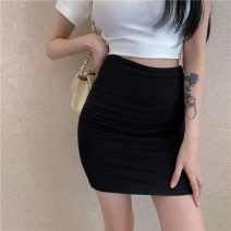 skirt Spring 2021 Average size Gray, black Short skirt commute High waist A-line skirt Solid color Type A 18-24 years old 31% (inclusive) - 50% (inclusive) other Other / other other Korean version