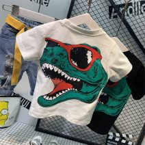 T-shirt White dinosaur T-shirt c13111, black dinosaur T-shirt c1311112120 jeans, a set of white T dinosaur + 12120 pants, a set of black T dinosaur + 12120 pants Anchaopin The recommended height is about 90cm for size 7, 100cm for size 9, 110cm for size 11, 120cm for size 13 and 130cm for size 15