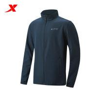 Sports windbreaker male XTEP / Tebu Black, dark grey, dark blue M (adult), s, XL, XXL (adult), XXXL (adult), l Spring 2021 stand collar zipper Brand logo outdoor sport Single windbreaker Windbreak