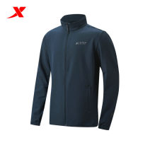 Sports windbreaker male XTEP / Tebu Black, dark grey, dark blue M (adult), s, XL, XXL (adult), XXXL (adult), l Spring 2021 stand collar zipper Brand logo outdoor sport Single windbreaker Windbreak