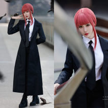 Cosplay women's wear Other women's wear Customized Over 6 years old Full suit (stock), wig, shirt, pants, tie comic Xs, s, m, average size Japan Chainsaw man