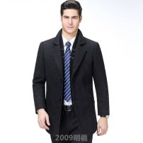 woolen coat Dark green, black ^? 175,190,165,180,170,185 Others other PKZ6537 have more cash than can be accounted for Other leisure Self cultivation tailored collar Solid color Three dimensional bag Pocket decoration