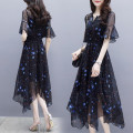 Dress Summer 2020 Picture color S. M, l, XL, 2XL, 3XL, XXXs pre-sale Mid length dress singleton  Short sleeve commute Socket routine Korean version 81% (inclusive) - 90% (inclusive)