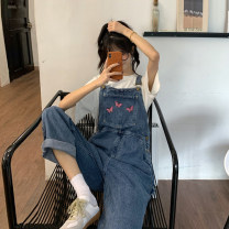 Women's large Spring 2020 blue Large L, large XL, s, m, 2XL, 3XL, 4XL 18-24 years old trousers
