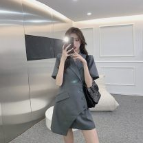 Dress Spring 2021 Gray, black, white S,M,L,XL Other / other