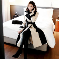 woolen coat Winter of 2018 S,M,L,XL Picture color polyester 31% (inclusive) - 50% (inclusive) Medium length Long sleeves commute other other Cape type Korean version Other / other