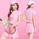 Golf apparel White, pink, red, bright yellow, yellow, red, black skirt 5711, white, blue skirt 5711808, white, 808 yellow, 808 red M,L,XL,XXL,XXXL female Other / other t-shirt  w9339h