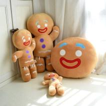 Cushion / pillow Plush Gingerbread Man pillow, small Gingerbread Man Doll, medium Gingerbread Man Doll, large Gingerbread Man Doll Soft down cotton Gingerbread Man Cushion Cartoon animation down Sweet talk