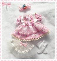 BJD doll zone Dress 1/6 Over 14 years old goods in stock Headdress skirt sock skirt 6, 4, Juying, Blythe, Xiaobu