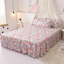Bed skirt 120cmx200cm,150cmx200cm,180cmx200cm,200cmx220cm Others Other / other Plants and flowers JACQ020