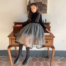 Dress Base coat (top) skirt (no base coat) female Xiaodingyou 120cm 130cm 140cm 150cm 160cm 165cm Polyester 100% spring and autumn Skirt / vest Solid color cotton Strapless skirt XD1F13778-1 Class B Spring 2021